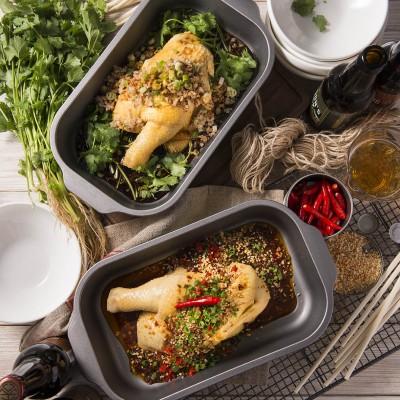scallion ginger & sichuan chili chicken (large)