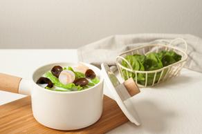 spinach dough drop soup